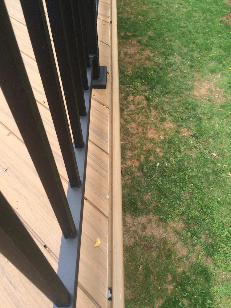 Brown Flooring Deck