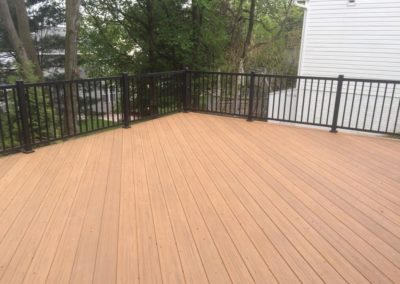 Brown Outdoor Deck