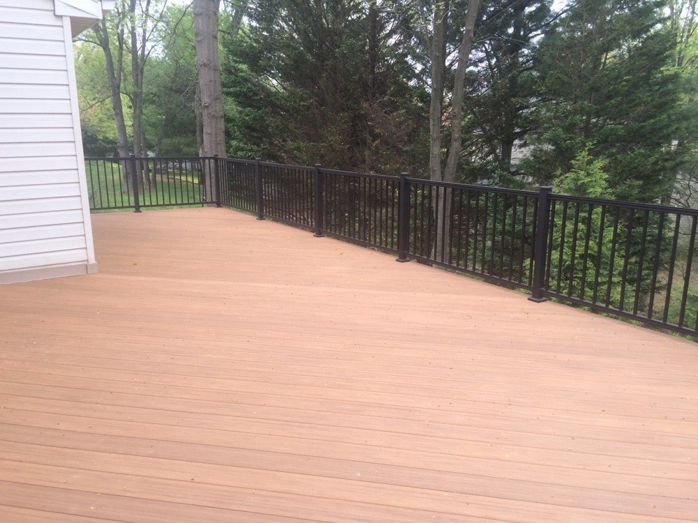 Brown Outdoor Deck Flooring