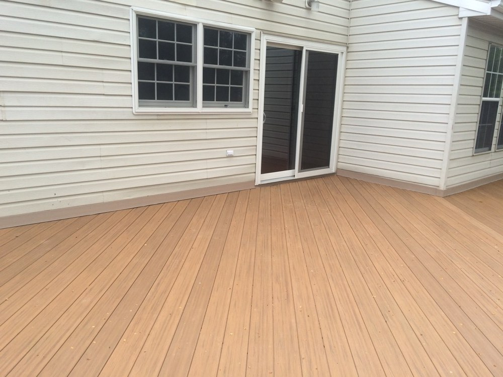 Brown Outdoor Decking