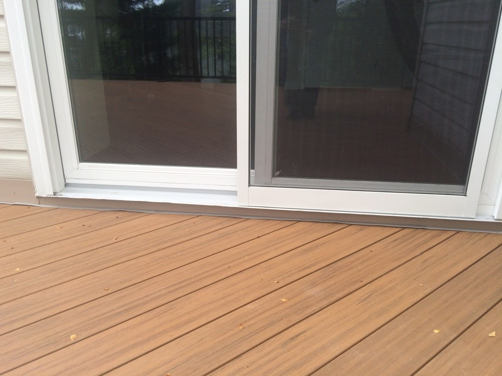 Brown Outdoor Flooring Deck