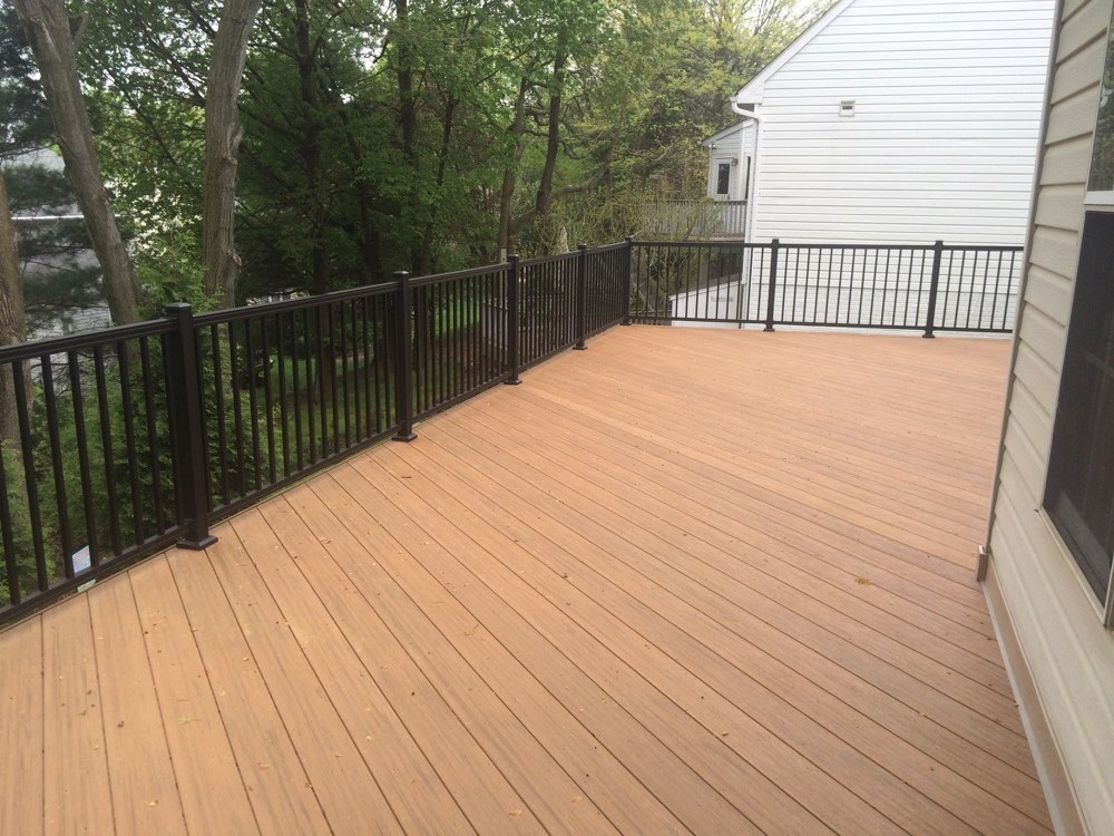 Brown Outdoor Flooring Decking