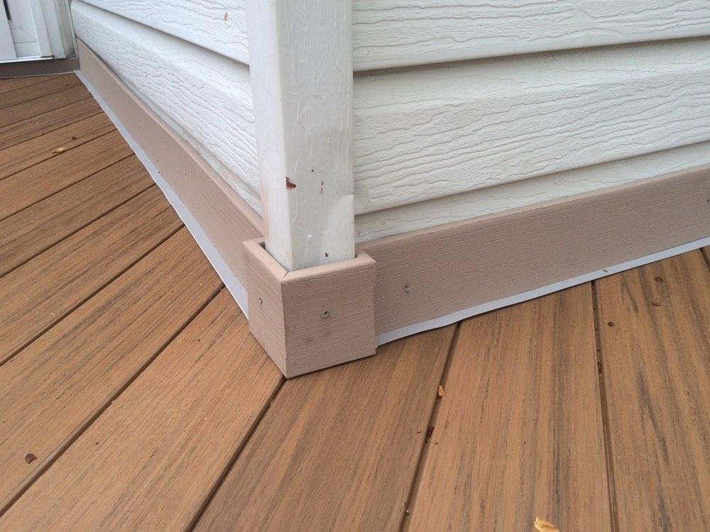 Brown Outdoor Flooring
