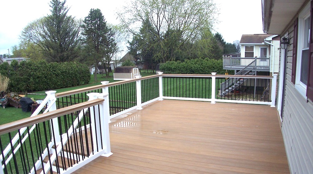 Outdoor Deck Storage Space Flooring