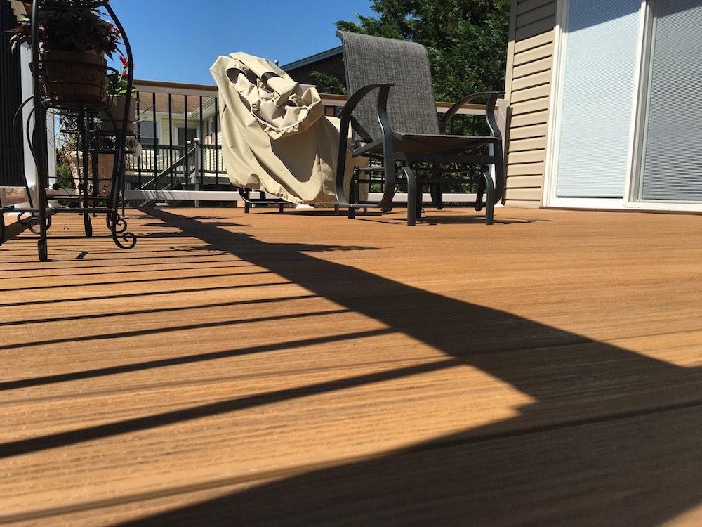 Outdoor Deck Storage Space
