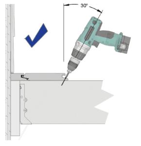 SpaceMaker Hidden Deck Fastener